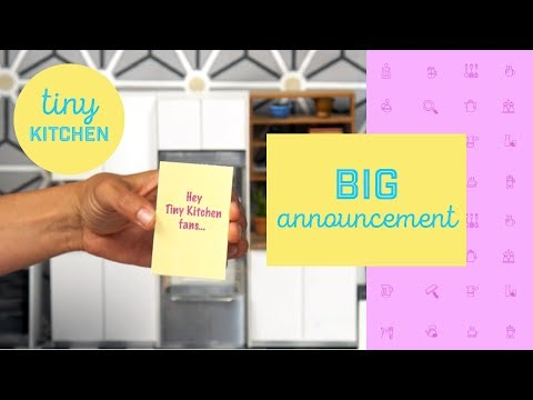 HUGE Announcement for TINY Kitchen