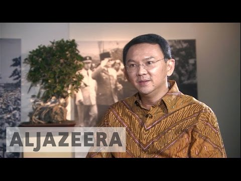 Indonesian governor, on trial for blasphemy, defends himself