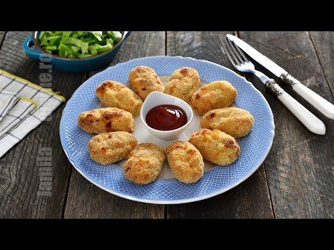 Nuggets de pui la cuptor