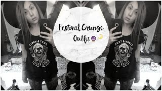 Festival Grunge Inspired Outfit. Feat. STYLEWE