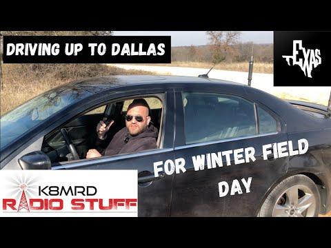 Winter Field Day Drive to Dallas