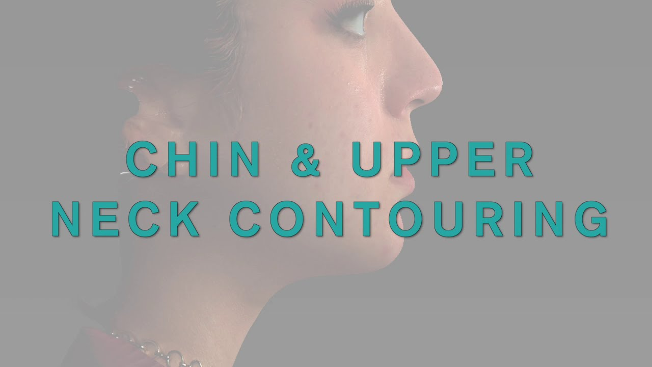 Chin and upper neck contouring video