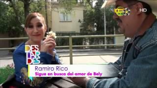 Ramiro sigue demostrando su amor por Bely Treviño
