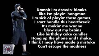 Eminem - Die Alone (ft Kobe) [Lyrics]