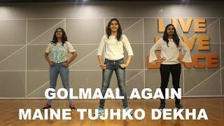 GOLMAAL AGAIN/ KIDS DANCE/ MAINE TUJHKO DEKHA/ BEST EASY STEPS FOR KIDS/ RITU'S DANCE STUDIO.