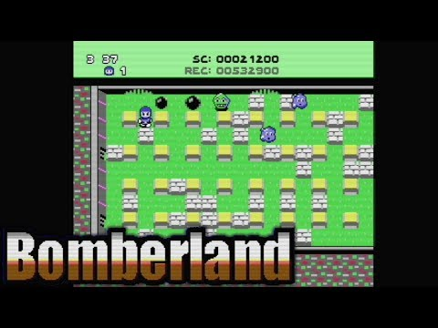 BomberLand (2018) | C64 | AudioComentado | Homebrew World