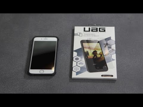 Urban Armor Gear (UAG) Glass Screen Protector - Installation Guide