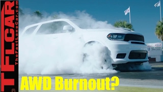 2018 Dodge Durango SRT AWD Burnout Monster: Everything You  Ever Wanted to Know
