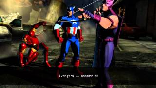 UMVC3 Captain America Quotes