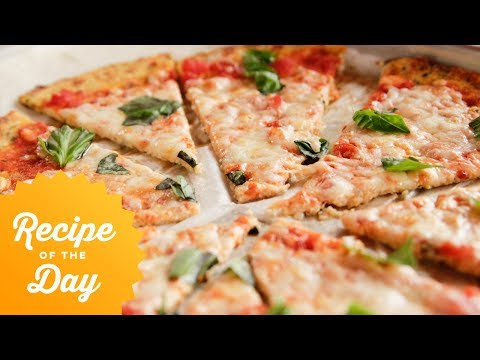 Recipe of the Day: Rees Cauliflower Crust Pizza | Food Network