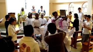 Canto mariano - Consagración de Wanda Karina de Jesús 21nov10
