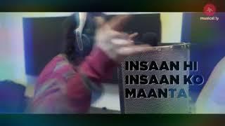 Insaan hi Insaan ko manta nahi    ft. CARRY MINATI