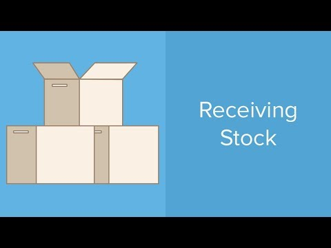Receiving Stock | STC100.003