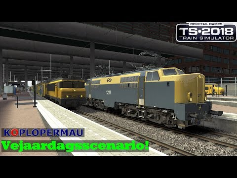 Vejaardagsscenario  Zuid West Nederland V18  Train Simulator 2018