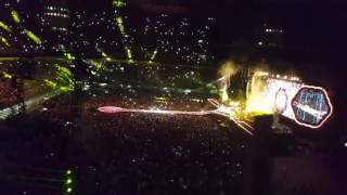 Coldplay Hymn For The Weekend live Milano stadio San Siro 3-07-2017