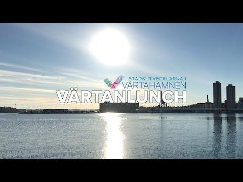 Värtanlunch - hamnens historia och den växande staden