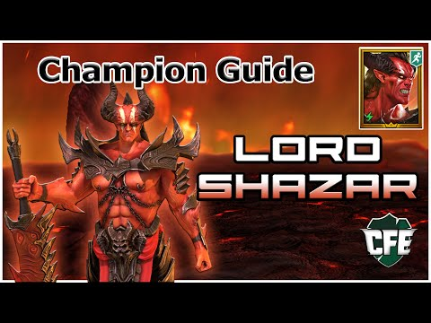 RAID Shadow Legends | Champ Guide | Lord Shazar