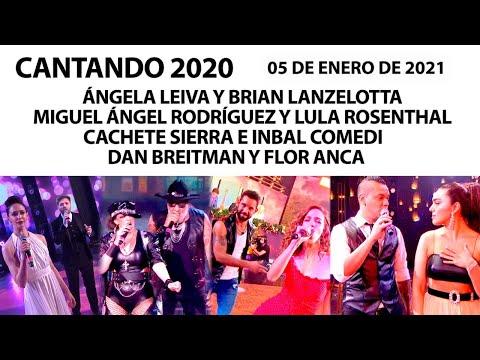 Cantando 2020 – Programa 05/01/21 – 4 parejas en una nueva ronda de #RitmoLibre