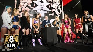 Triple H & Johnny Saint announce the first NXT UK Women's Title Tournament: NXT UK, Nov. 14, 2018