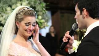 Casamento Olga e Victor - Noivo cantando All of me - John Legend