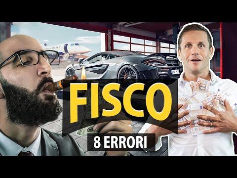 8 ERRORI DA EVITARE COL FISCO | avv. Angelo Greco