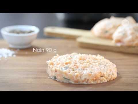 OBH Nordica Quick Burger: lohihampurilainen