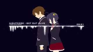 [ Nightcore ] Get out Alive Three Days Grace
