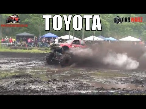 Red Toyota Mega Truck At Perkins Spring Mud Bog