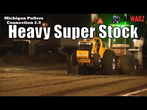 Heavy Super Stock Tractor Class At WPA Tractor Pulls In Charlotte Michigan 2018