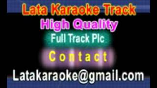 Tujh Mein Kya Hai Karaoke Bade DilWala {1984} Lata,Kishore