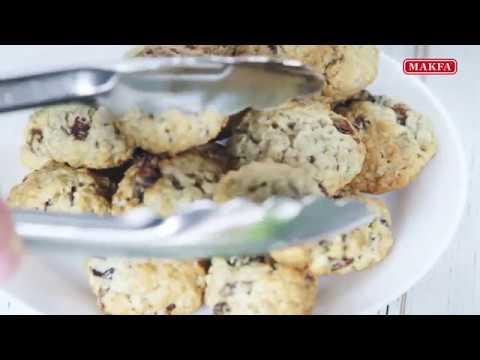 MAKFA | Мамины рецепты | Овсяное печенье