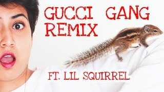 Gucci Gang Ft Lil Squirrel | Straight Off The Desk | Siri | Official Music Video