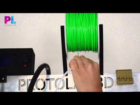 video3: Ingresar el Filamento