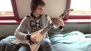 Randy Rhoads - Over The Mountain Guitar Solo cover