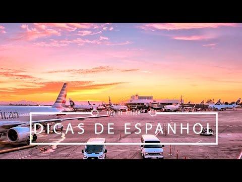 Vocabulário de Viagem/Aeroporto em ESPANHOL | Pigmento F