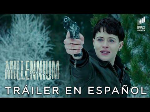 MILLENNIUM: LO QUE NO TE MATA TE HACE MÁS FUERTE. Tráiler Internacional HD. En cines 9 de noviembre.