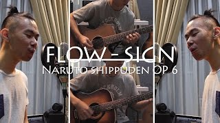 Flow - Sign (Naruto Shippuden OP 6) Acoustic Cover | Jason Wijaya