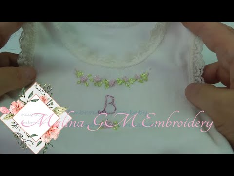 How to make embroidery for baby | Easy stitches