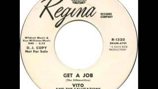 Vito & The Salutations - Get A Job (Regina 1320) 1964