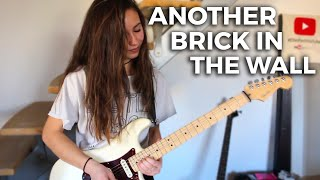 Pink Floyd - Another brick in the wall solo (Cover by Chloé) width=