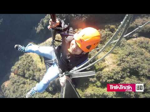 Extreme Zipline, fastest, tallest and steepest  zipline in the world