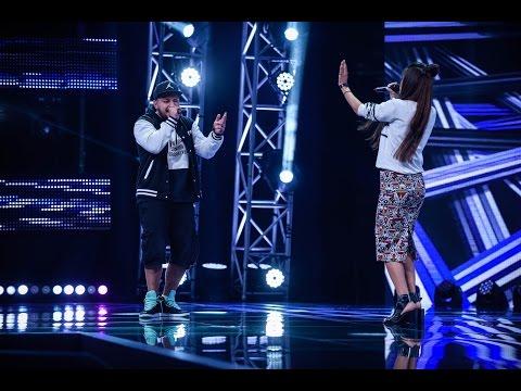"""Blu Cantrell - """"Breathe"""". Vezi interpretarea lui Dorian Lupu şi a Cristinei Baban de la X Factor!"""