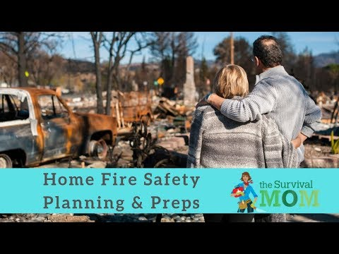 Home Fire Safety Planning & Preps