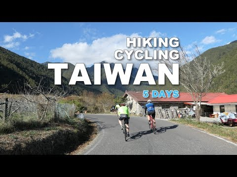 CYCLING/HIKING TAIWAN 5 DAYS