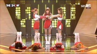 [DEBUT STAGE] 170321 LIPBUBBLE (립버블) - POPCORN '팝콘' @ SBS MTV THE SHOW