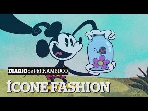 Mickey Mouse estampa coleções de destaque na temporada