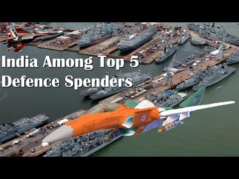 India Among Top 5 Defence Spenders, China's Is Thrice Its Budget: Report