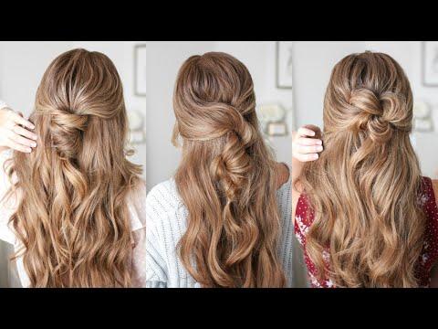 3 EASY Half Up Hairstyles   Missy Sue