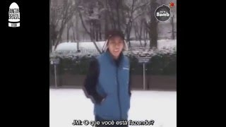 [BANGTAN BOMB] Guerra de bola de neve (Câmera do Jimin) [Legendado PT-BR]