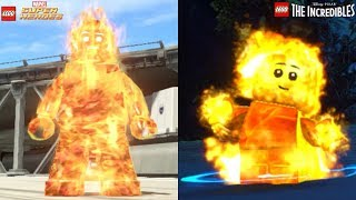 Lego Marvel Superheroes VS Lego The Incredibles